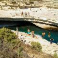 die Badewanne Maltas